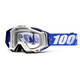 100% Racecraft Goggle cobalt blue / clear